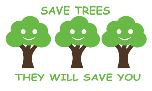 essay on how to save trees